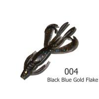 "БАЛЕРИНКА 2"" (15шт/уп) #004 Black Blue Gold Flake / 02 Чеснок"