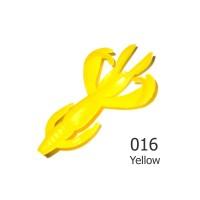 """БАЛЕРИНКА 2"""" (15шт/уп) #016 Yellow / 01 Сыр"""